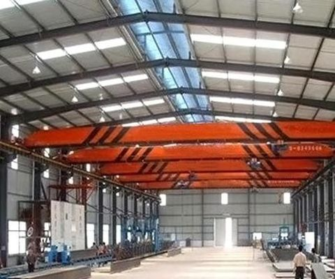 LB Monorail Overhead Crane , Small Gantry Crane With Light Lifting Capacity